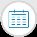 Kalender-Icon-rund